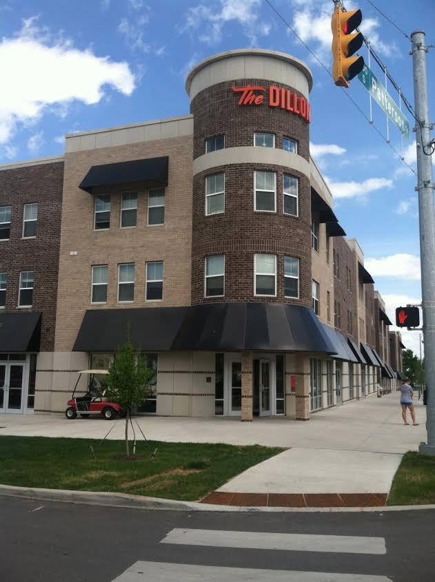 Awnings - The Dillon in Bloomington, Indiana