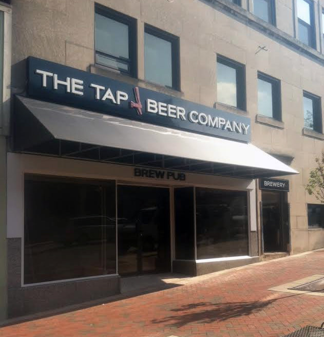 Awnings - The Tap Brewery in Bloomington, Indiana