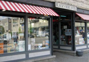 Awnings - Black's Mercantile in Bloomington, Indiana