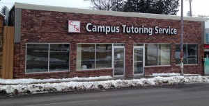 Channel Lettering - Campus Tutoring Services