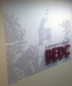 Dimensional Signs - Bloomington Economic Development Corporation