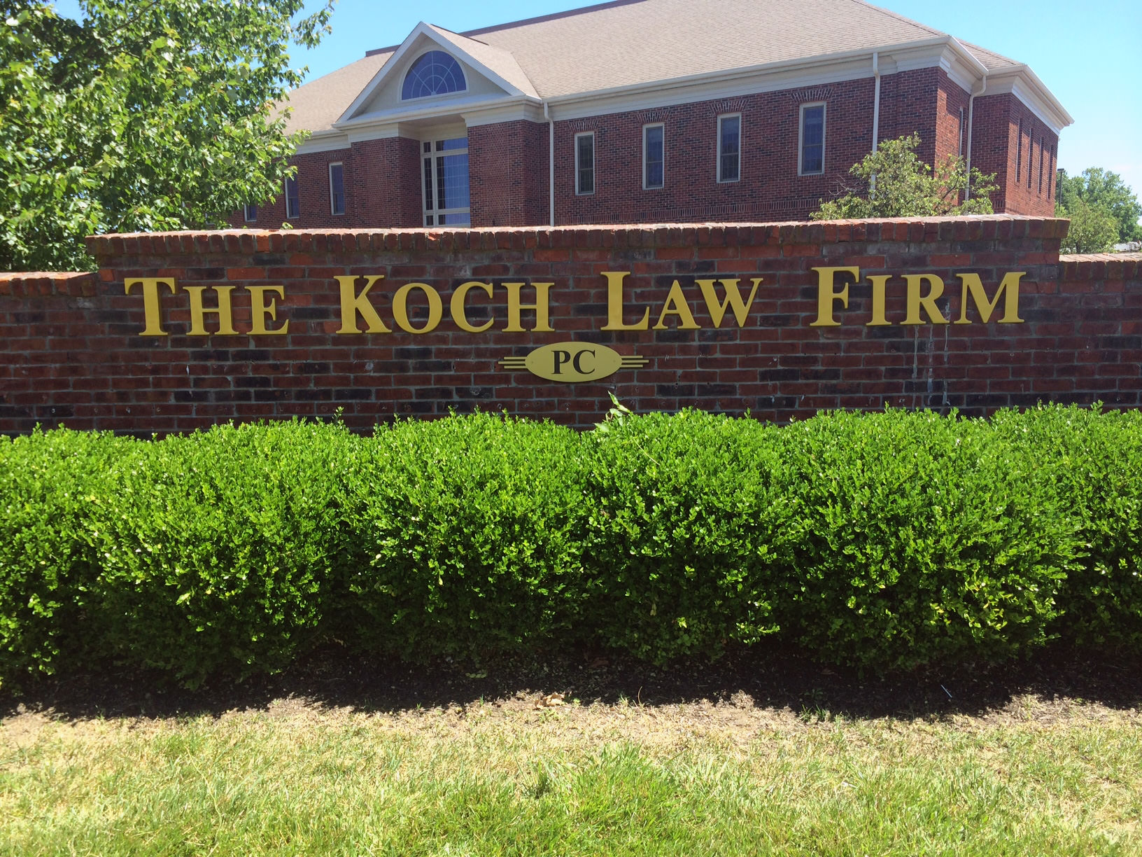 Dimensional Signs - The Koch Law Firm
