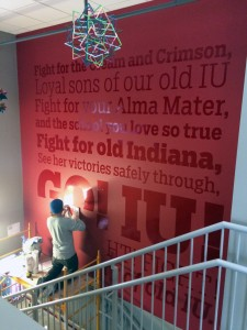 Interior Signs - Fight For Indiana University