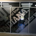 Interior Signs - Frosted Vinyl Indiana University