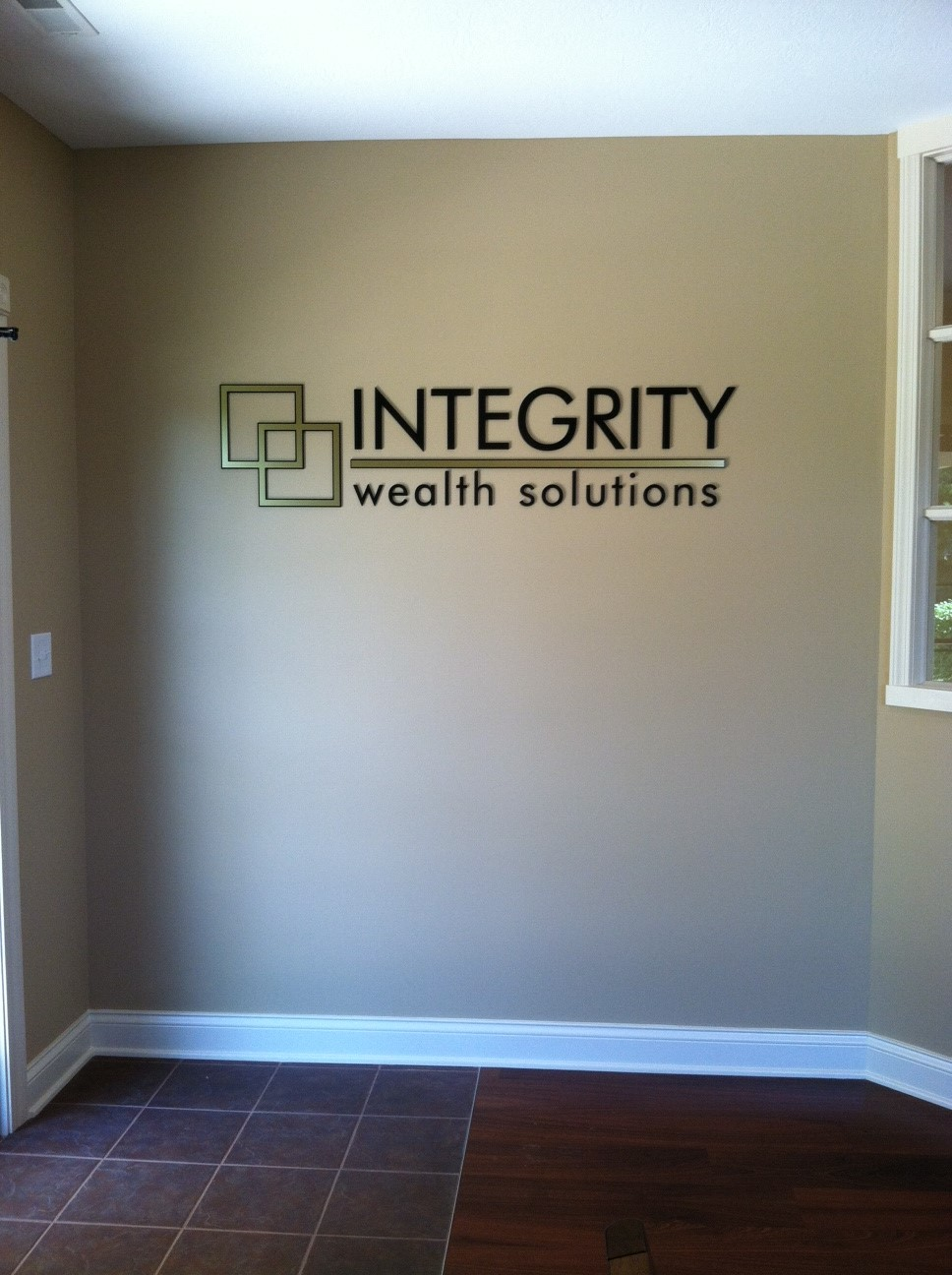 Interior Signs - Integrity in Bloomington