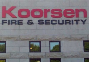 Dimensional Signs - Koorsen Fire & Security