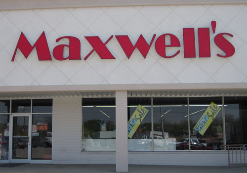 Channel Lettering Signs - Maxwells