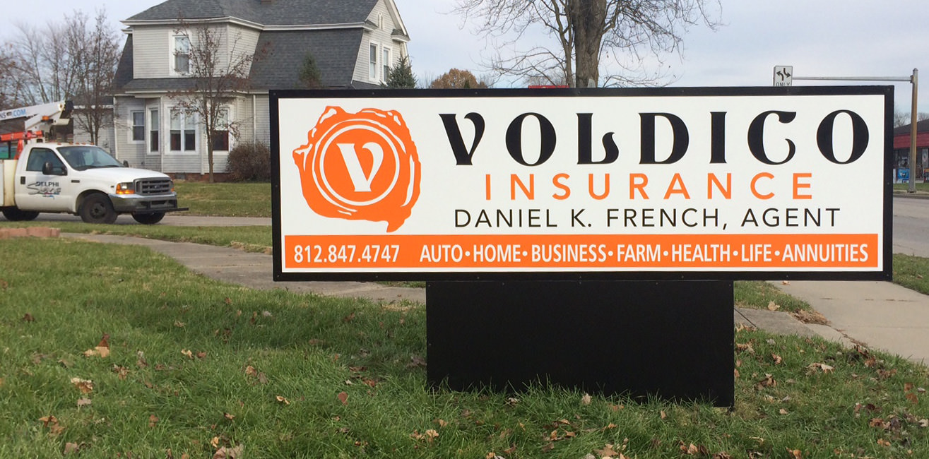 monument-sign-voldico-insurance
