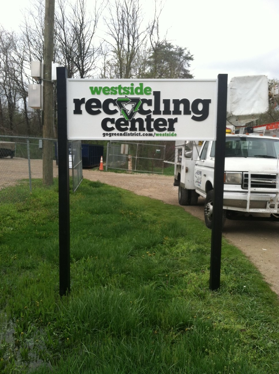 routed-signs-westside-recycling-center