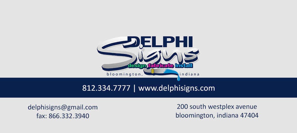 Delphi Signs Contact Information